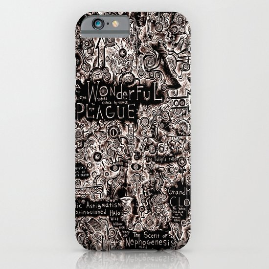 The Wonderful Plague iPhone & iPod Case
