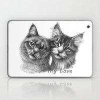 Cats in Love G134 Laptop & iPad Skin