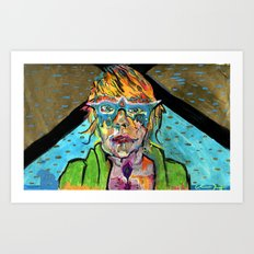Uranium Girl Art Print