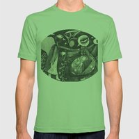 Night Secrets Mens Fitted Tee Grass SMALL