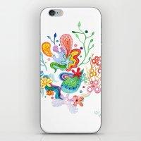 Aquatic Mood iPhone & iPod Skin