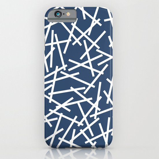 Kerplunk Navy and White iPhone & iPod Case
