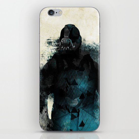 Abstract BANE iPhone & iPod Skin