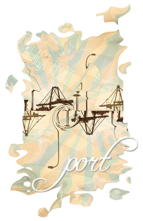 Port Art Print