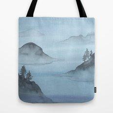 Blue Sound Tote Bag