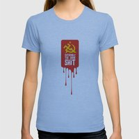 Extremists Womens Fitted Tee Athletic Blue SMALL