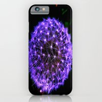 Purple Spark iPhone 6 Slim Case