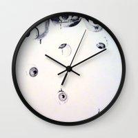 Eyes n' Mouths Wall Clock