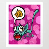 Sea Monkey Art Print