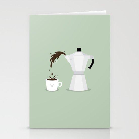 Espresso Time! Stationery Card