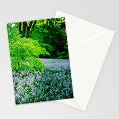 Violet Fields Stationery Cards