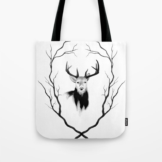 DEER REVISITED Tote Bag