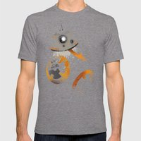 Astromech Beebee-Ate Mens Fitted Tee Tri-Grey SMALL