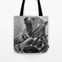 Bear Art Tote Bag