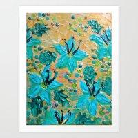 BLOOMING BEAUTIFUL - Mod… Art Print
