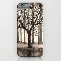 iPhone & iPod Case featuring December by Leyla Akdogan