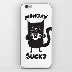 MONDAY SUX iPhone & iPod Skin
