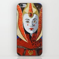All Hail The Queen iPhone & iPod Skin
