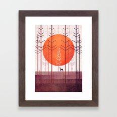 Silent Forest Framed Art Print