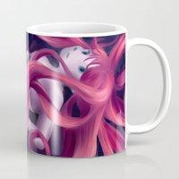 Swirly hair Mug