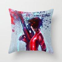 O-Ren Ishii Throw Pillow