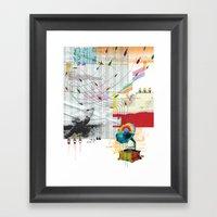 War Antheme Framed Art Print