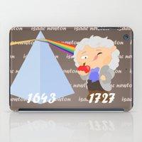 Isaac Newton iPad Case