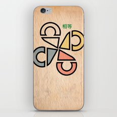 Wings of Equality iPhone & iPod Skin