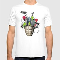 Le Troisième Oeil Mens Fitted Tee White SMALL