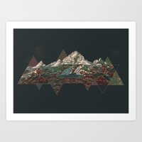 This Mountain Art Print