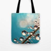 Heavenly Blue Smoke Drop… Tote Bag