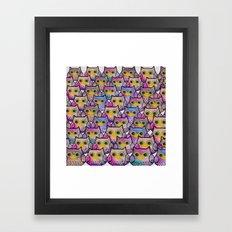 owl-830 Framed Art Print