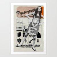 LOVE + Understanding  Art Print
