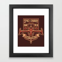 Just a Humble Bounty Hunter Framed Art Print