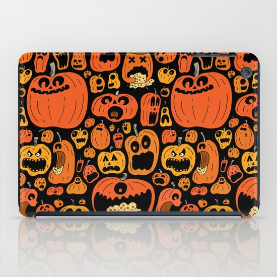 Pumpkin Pattern iPad Case
