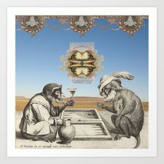 Gambling Art Print