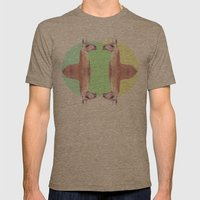 Falling In A Dream  Mens Fitted Tee Tri-Coffee SMALL