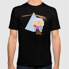 Isaac Newton Mens Fitted Tee Black SMALL