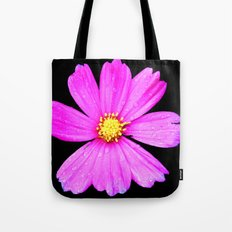 Cosmos Flower Photography Close up Macro Tote Bag