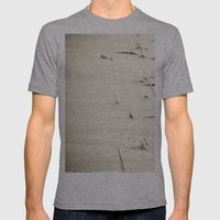 Overrun Mens Fitted Tee Athletic Grey SMALL