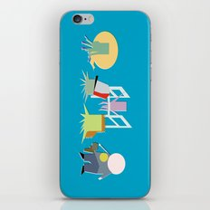 Minimal Squidbillies iPhone & iPod Skin