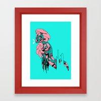 PSYCHEDELICK Framed Art Print