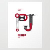 Bike to Life - M-Bike_PJHarvey Art Print