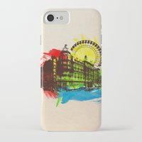 chicago iPhone & iPod Cases featuring Chicago by Badamg