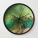 Tulip Wall Wall Clock