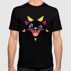 Pussy Galore Black SMALL Mens Fitted Tee