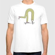 Pencil Pusher Mens Fitted Tee White SMALL