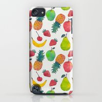 iPod Touch Cases featuring Fruity by Tracie Andrews