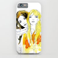 iPhone & iPod Case featuring E and Gabrielle by mekel
