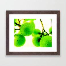 Grapes I Framed Art Print